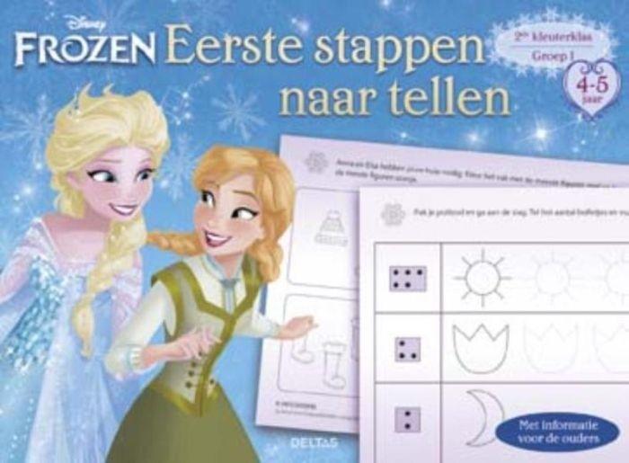 Disney Frozen Eerste stappen naar tellen (4-5 jaar)