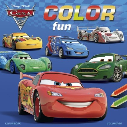 Disney Color Fun Cars 2 Deltas