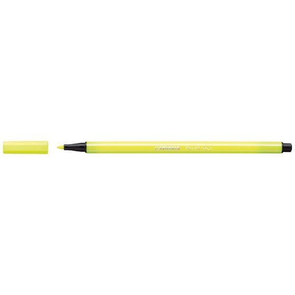 Stabilo Pen 68 Neon Geel