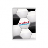Voetbal International Schrift A4 Ruit 10 mm