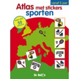 Atlas met stickers: sport