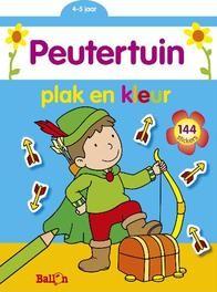 Plak en Kleurboek Jongen (4-5 jaar)