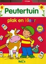 Peutertuin: plak en kleur (4-5 Jaar)