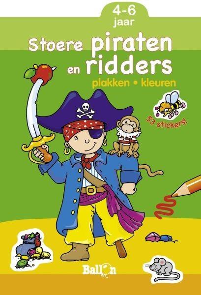 Stoere piraten en ridders plak (4-6 jaar)