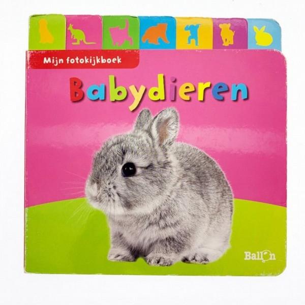 Fotokijkboek Babydieren