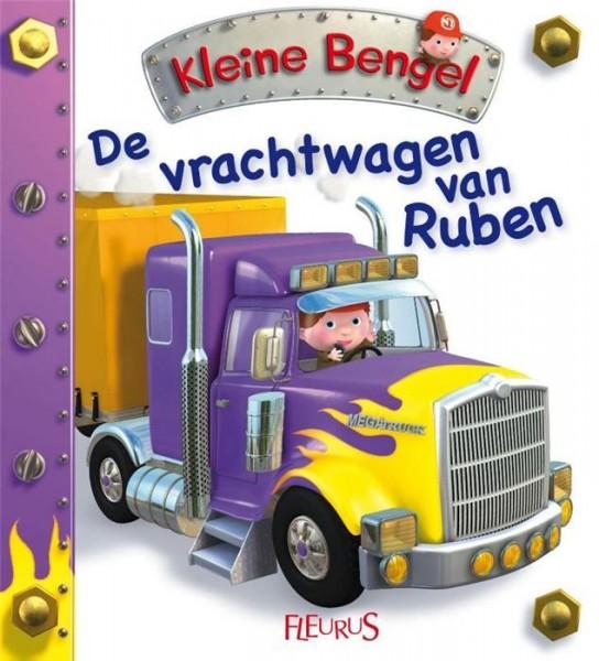 Kartonboekje Kleine Bengel - De Vrachtwagen Van Ruben