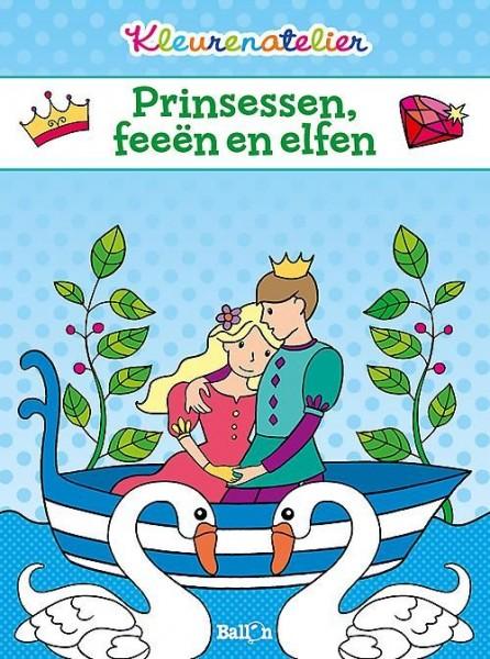 Kleurenatelier Prinsessen, Feeën En Elfen