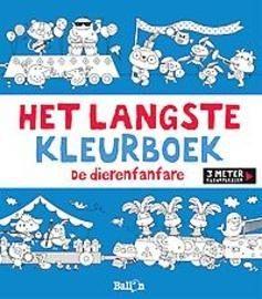 Het Langste Kleurboek De Dierenfanfare