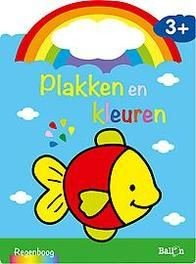 Plakken en kleuren - vis