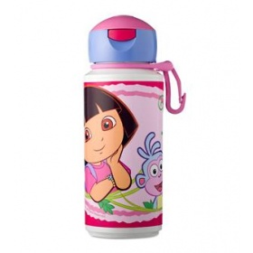 Drinkfles pop-up dora