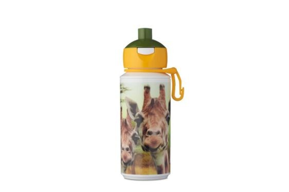Rosti Mepal Giraffe Drinkfles Pop Up