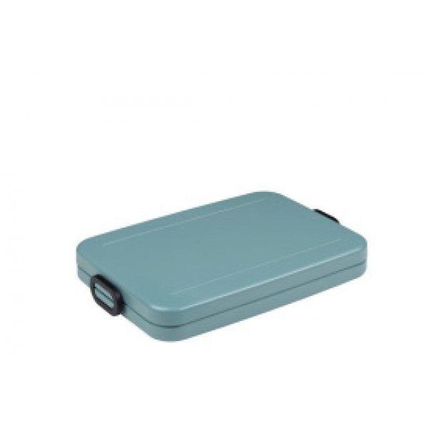 Rosti Mepal Lunchbox Tab Flat Nordic Green