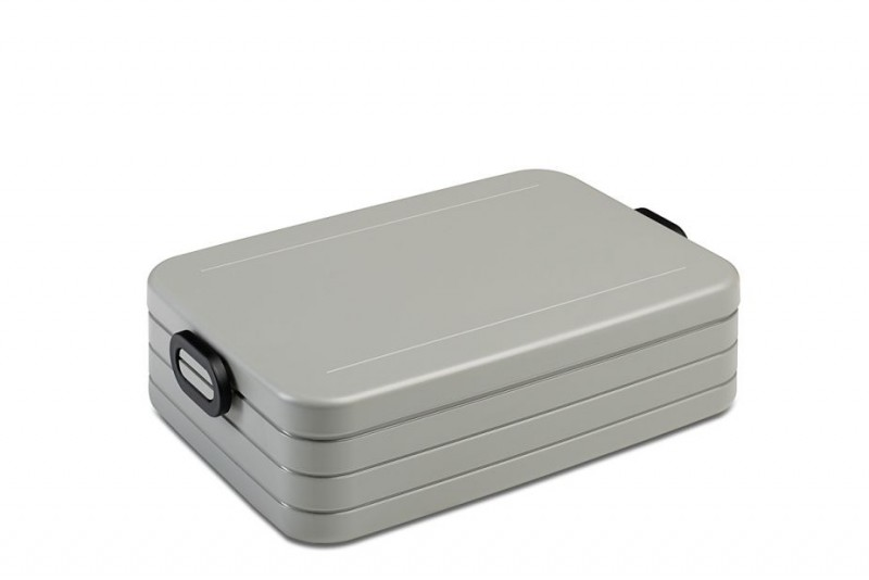 Lunchbox ''Take a Break'' Large zilver