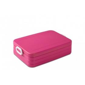 rosti mepal lunchbox tab large pink. Black Bedroom Furniture Sets. Home Design Ideas