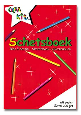 Schetsboek a5