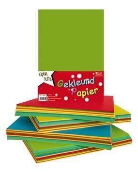 Papier gekleurd a4 80 gram