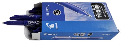 Pilot rollerball frixion blauw