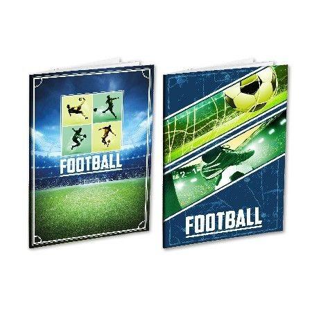 Schrift A4 Lijn 96 Vel Football