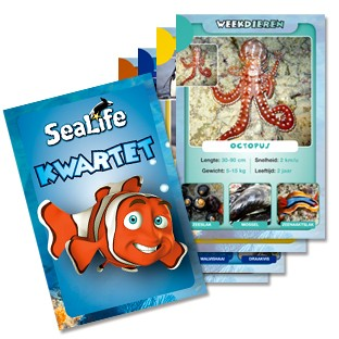 Spel Kwartet Sealife