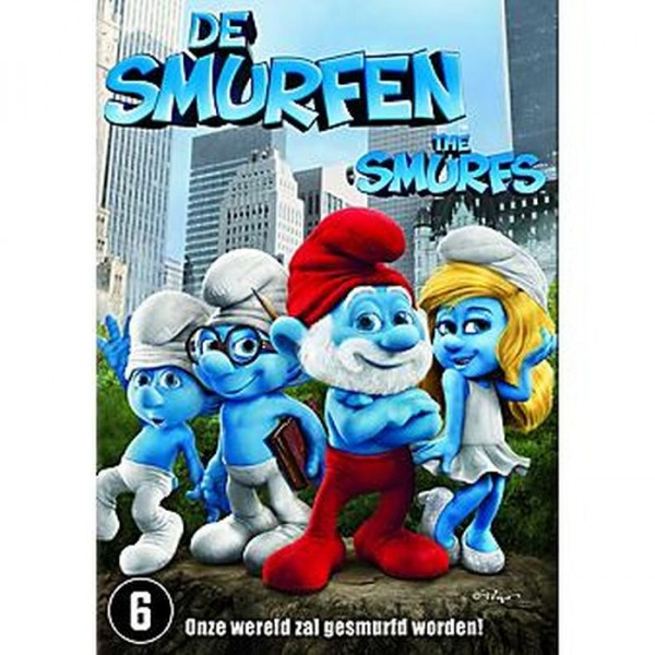 Dvd De smurfen