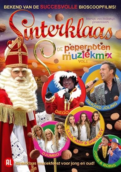DVD Sinterklaas en de Pepernoten Muziekmix