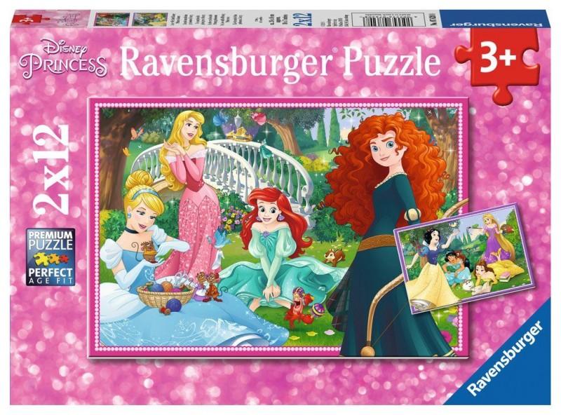 Ravensburger Puzzel In De Wereld Van De Disney Prinsessen (2x12)