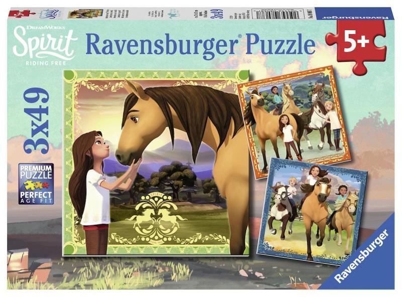 Ravensburger Puzzel Spirit (3x49)