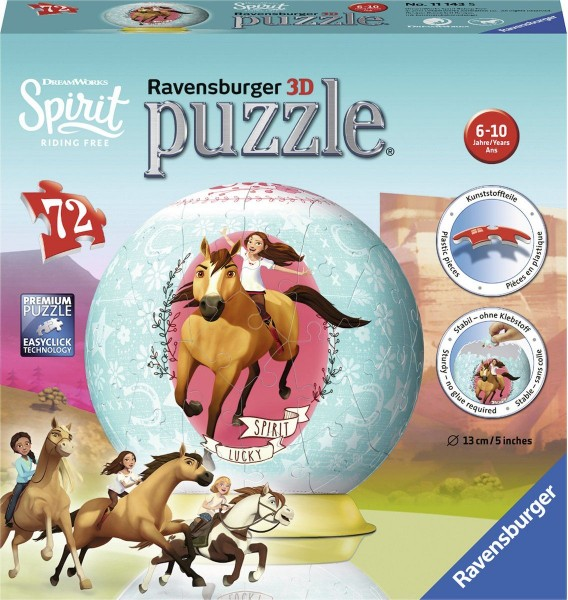 Ravensburger Puzzel 3D Spirit (72)