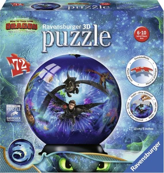 Ravensburger Puzzel 3D Dragons (72)