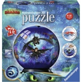 Ravensburger Puzzel 3D Dragons (72)