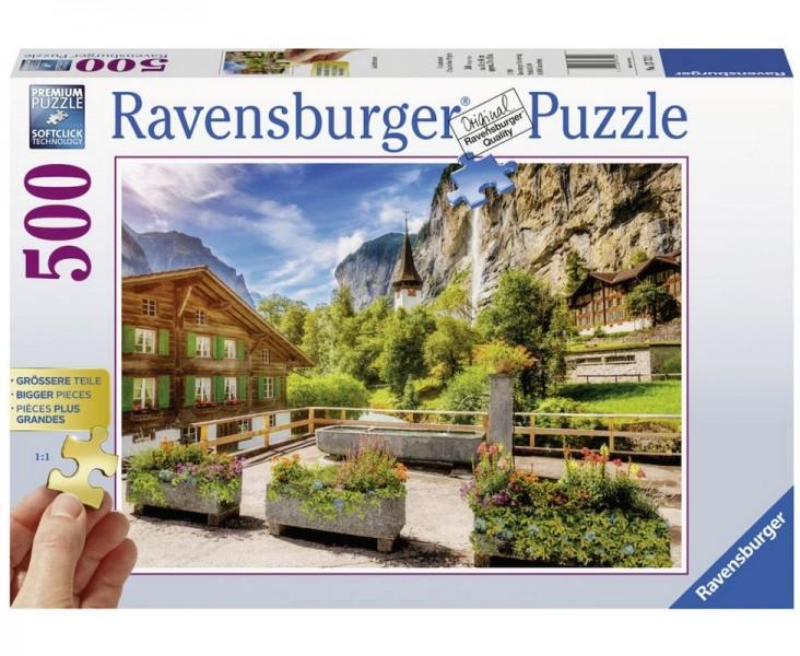 Ravensburger Puzzel Lauterbrunnen (500)