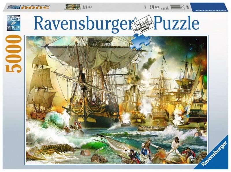Ravensburger Puzzel Battle On The High Seas (5000)