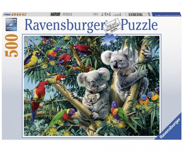 Ravensburger Puzzel Koalas In De Boom (500)