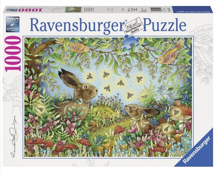 Ravensburger Puzzel Nachtelijk Sprookjesbos (1000)