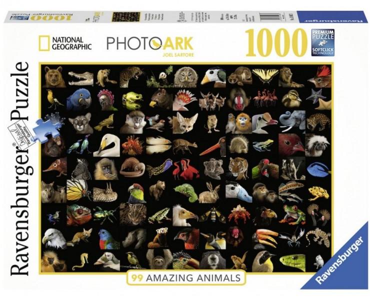 Ravensburger Puzzel 99 Prachtige Dieren (1000)