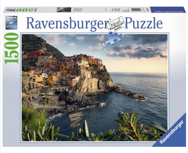 Ravensburger Puzzel Uitzicht op Cinque Terre (1500)