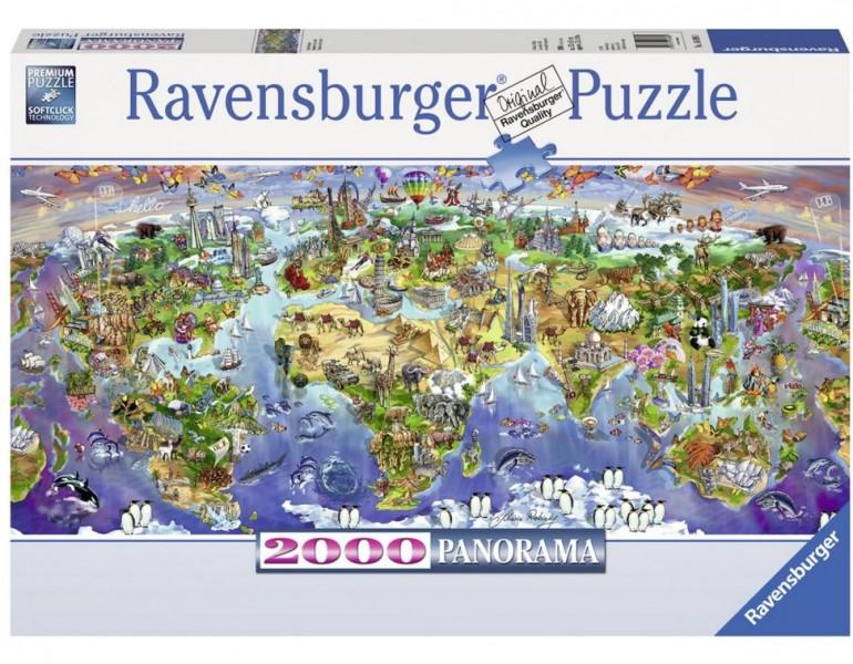 Ravensburger Puzzel Wereldwonderen (2000)