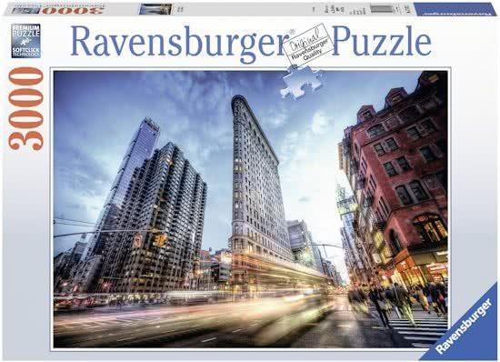 Ravensburger Puzzel Flat Iron Building (3000)