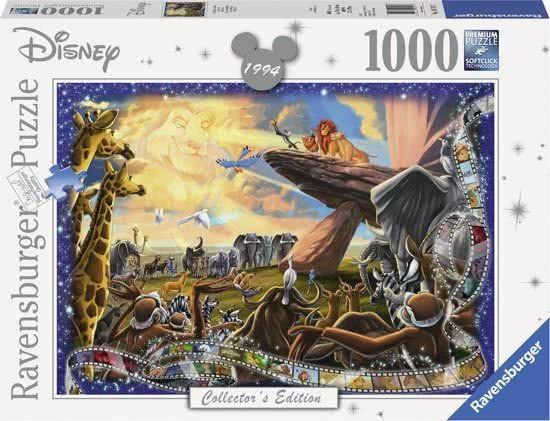 Ravensburger Puzzel Disney The Lion King (1000)