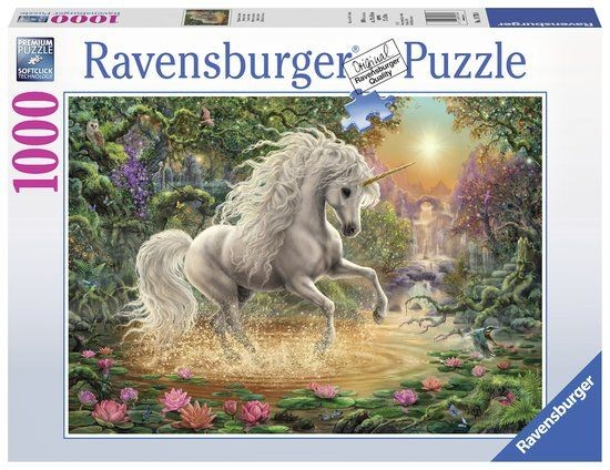 Ravensburger Puzzel Mystical Unicorn 1000