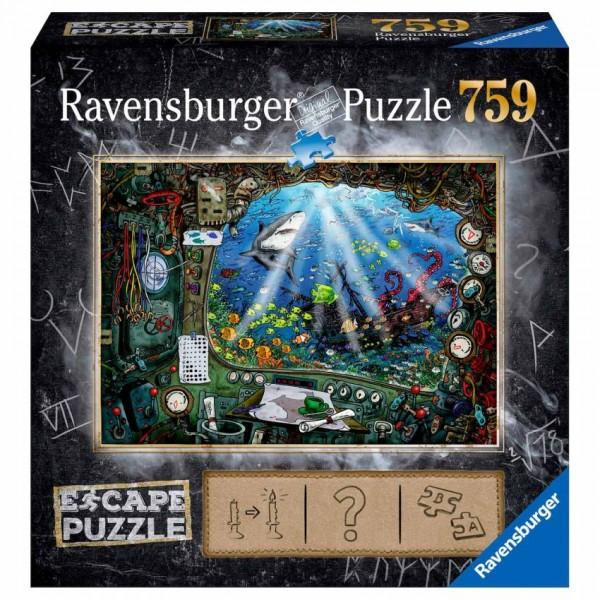 Ravensburger Puzzel Escape De Onderzeeër (759)