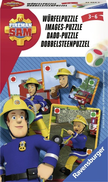 Ravensburger Brandweerman Sam Dobbelsteen Puzzel Pocketspel