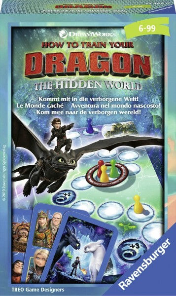 Ravensburger Dragons De Verborgen Wereld Pocketspel