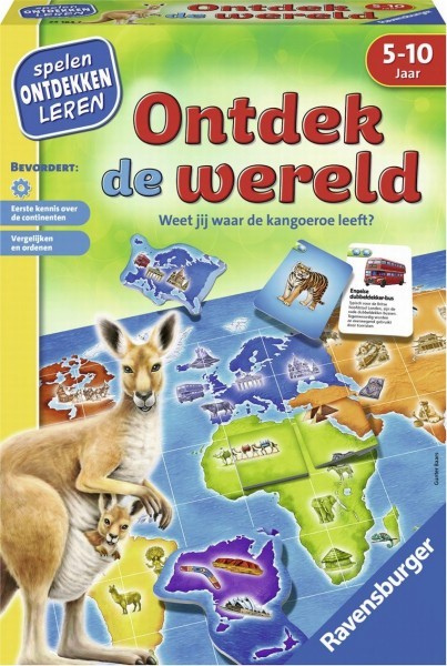 Ravensburger Ontdek de Wereld educatief spel
