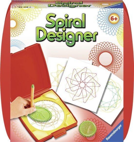 Ravensburger Mini Spiral Design Rood