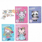 Kleurboek Dress Up Your Kitty, Panda, Unicorn or Bunny