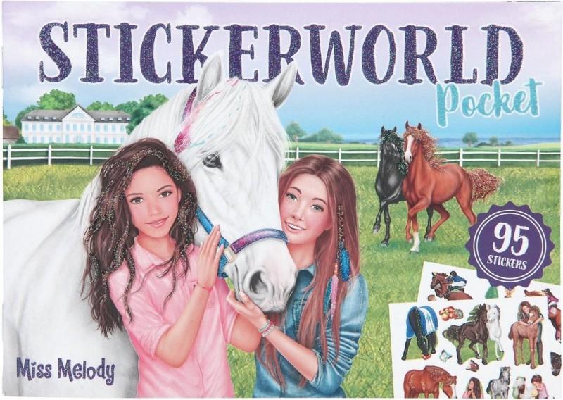 Miss Melody Stickerworld