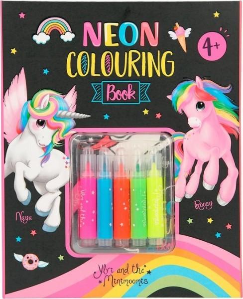 Ylvi Neon Kleurboek Set