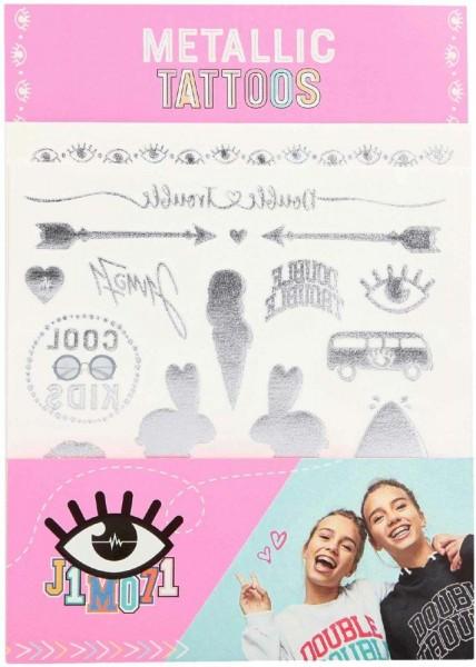 J1MO71 Lisa & Lena Metallic Tattoos