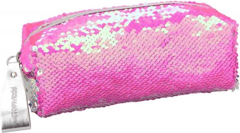 Topmodel Etui Met Stijkpailletten Roze